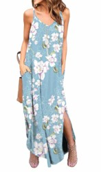 GRECERELLE Womens Summer Casual Loose Dress